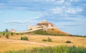 One of many old Transylvania Castles in Romania — Stock Photo