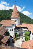 Dracula's Castle - Bran Castle, Transylvania, Romania, Europe — Stock Photo