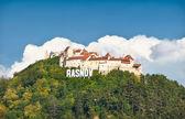 Rasnov fortress ruins , Transylvania, Romania. — Stock Photo