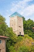 Black Tower in Brasov, Transylvania, Romania — Stock Photo