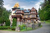 Pelisor museum in Sinaia, Romania. — Stock Photo
