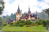 Peles palace in Sinaia, Romania — Foto Stock