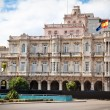 Spanish embassy building in old Havana - Stock Photo