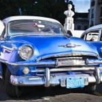 Постер, плакат: Classic blue Plymouth in Havana