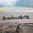 Stock Photo: Hindu temple near Mt. Bromo ,East Java, Indonesia