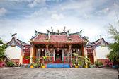 Klenteng poncowinatan temple chinois à yogyakarta, java. — Photo