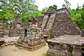 Ancient erotic Candi Sukuh-Hindu Temple on Java, Indonesia — Stock Photo