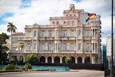 Spanish embassy building in old Havana — Stock Photo
