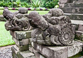 Stone craft in Candi Kidal Temple near by Malang, east Java — Stock Photo