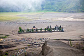 Hindu temple near Mt. Bromo ,East Java, Indonesia — Stock Photo