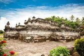 Templo penataran candi en blitar, java oriental, idonesia. — Foto de Stock