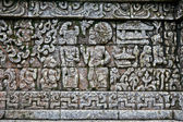 Stone craft in Candi Jago Temple near by Malang, east Java, In — Stock Photo
