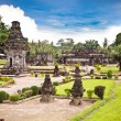 Candi Penataran temple in Blitar, east Java. - Stock Photo