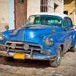 klasyczne chevrolet w trinidad, Kuba — Zdjęcie stockowe #21287323