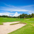 Golf course on the hill at Bali — Stock Photo #21288473