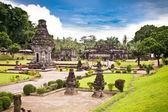 Templo penataran candi en blitar, java oriental. — Foto de Stock