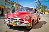 Classic Chevrolet in Trinidad, Cuba — Stock Photo