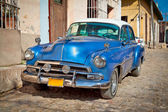 Classic Chevrolet in Trinidad, Cuba. — Stock Photo