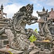 Dragon monster secure the entrance of Pura Padmasana Puja Mandal — Stock Photo
