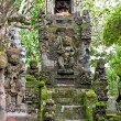 Traditional balinese dragon monster secure the of temple, Bali — Stock Photo