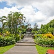 Beautiful garden in center of Denpasar , Indonesia — Stock Photo #21297155