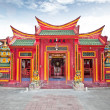 Caow Eng Bio chinese Buddhiist Temple in Tanjung Benoa near Nusa - Stock Photo