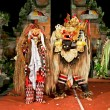 Stock Photo: Beasts in Barong and Keris dance performed in Bali, Indonesia.