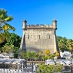 Graves at cemetery Santa Ifigenia in Santiago de Cuba — Stock Photo