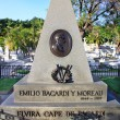 Grave of Emilio Bacardi at cemetery Santa Ifigenia in Santiago d - Stock Photo