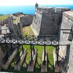 Castle San Pedro de la Roca del Morro near Santiago de Cuba — Stock Photo