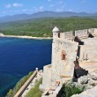 Castle San Pedro de la Roca del Morro, Cuba - Stock Photo