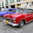 Classic american cars in Havana. Cuba. — Stock Photo #21299613