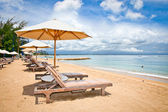 Beautiful Sanur beach on Bali — Stock Photo