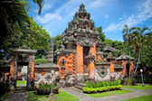 Entrance gate of Negeri Propinsi Museum in Denpasar, Bali — Stock Photo