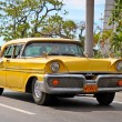 Classic Oldsmobile in Havana.Cuba. - Stock Photo