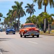 American classic cars in Havana. Cuba. — Stock Photo #21300409