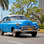 American classic cars in Havana. Cuba. — Stockfoto #21300521