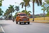 Classic Ford in Havana, Cuba. — Stock Photo