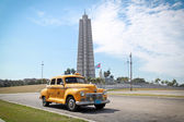 Classic DeSoto in Havana. Cuba. — Stock Photo