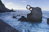 Peine del viento. Donostia San Sebastian — Stock Photo