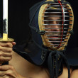 Kendo fighter — Stock Photo #12493365