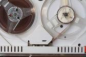 Old tape recorder — Stok fotoğraf