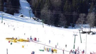 Ski resort — Stock Video