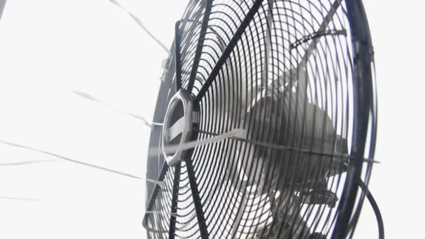 Ventilador eléctrico — Vídeo de stock