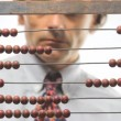 Mand abacus — Stock Video #13680686