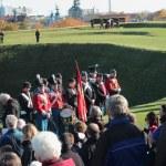 Danish Historical Military parade — Stock Photo #14136237