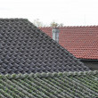Stock Photo: Asbestos roof