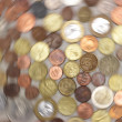 Rotating coins — Stockfoto #15849871