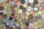 Coin background — Stockfoto