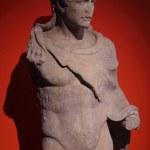 Bust of roman emperor — Stock Photo
